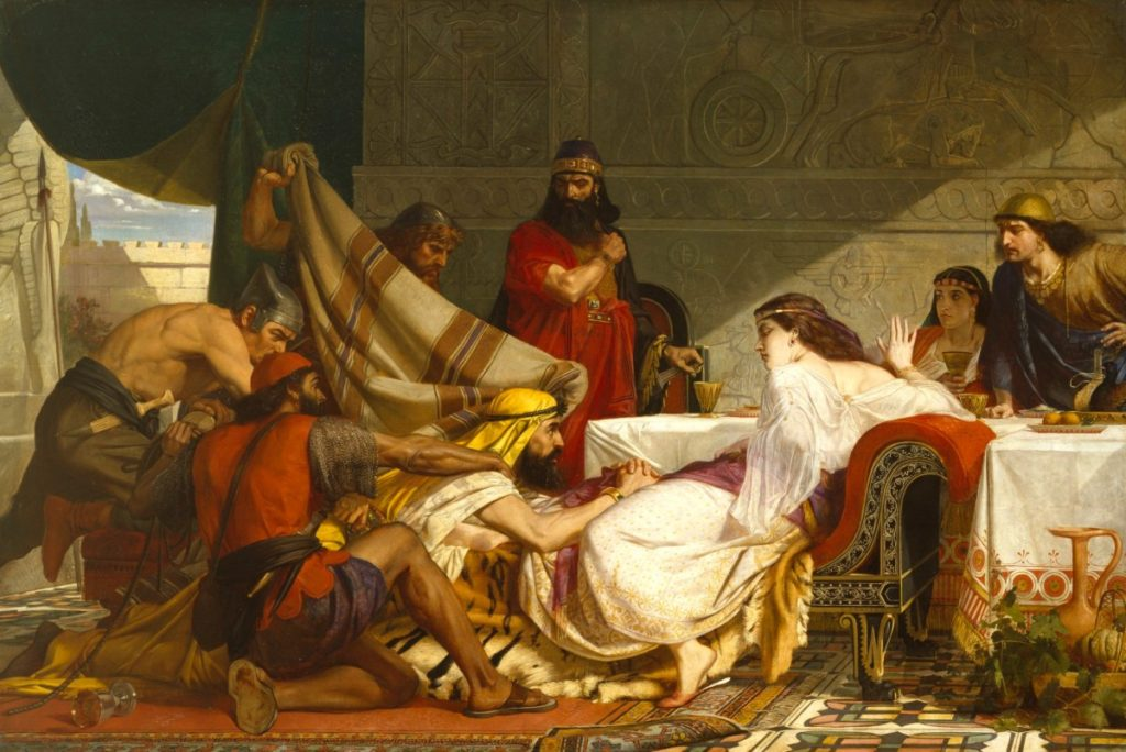 Armitage, Edward; The Festival of Esther