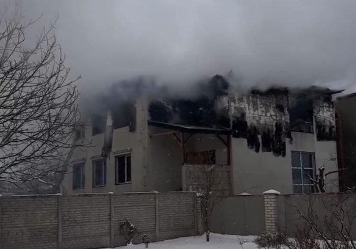 У Харкові загорівся приватний будинок для літніх людей: 15 жертв