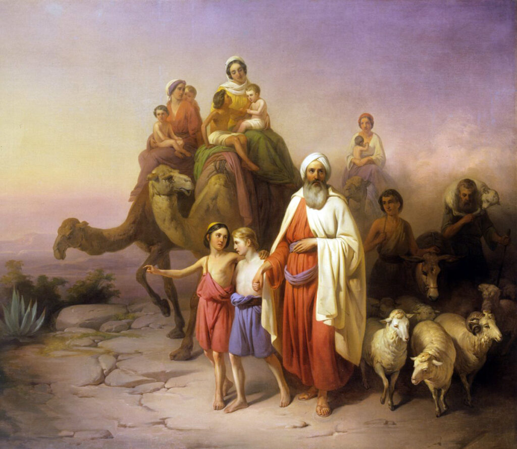 abrahams-journey-from-ur-to-canaan-by-jozsef-molnar-1850-hungarian-national-gallery-budapest-1024×890