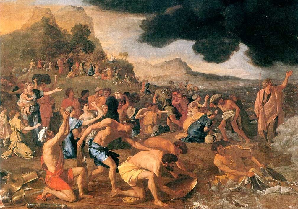 the-crossing-of-the-red-sea-by-nicolas-poussin-1633–34